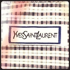 Vintage Yves Saint Laurent Pinstripe Dress Shirt